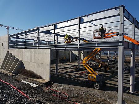 construction centre commercial Steel