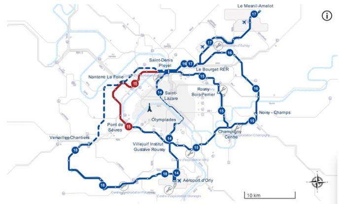 Ligne 15 Ouest du Grand Paris Express
